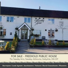 SOLD – The Yeaveley Arms, Yeaveley, Ashbourne, Derbyshire, DE6 2DT